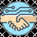 Untact Handshake Partners Handshake Icon