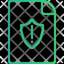 Untrusted File Alert Icon