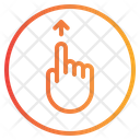 Up Finger Gesture Icon