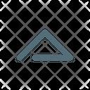 Up Arrow Hide Icon