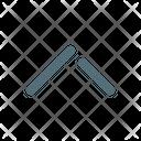 Up Arrow Chevron Icon