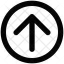 Arrow Material Up Icon