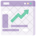 Growth Graph Up Money Icon