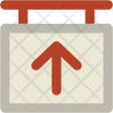 Up Arrow Direction Icon