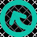 Up Customshape Shape Icon