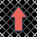 Pointer Arrow Up Icon