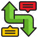 Up And Down Growth Loss Icon