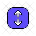 Up And Down Direction Arrow Icon
