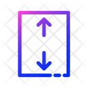 Up And Down Arrow Icon