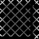 Up Angle Arrow Icon