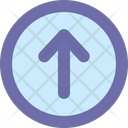 Arrow Up Button Icon