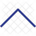 Up Arrow Navigation Icon