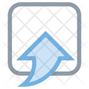 Up Arrow Uploading Icon