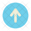 Up Direction Sign Icon