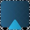 Arrow Square Up Icon