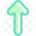 Up Arrow Pointing Arrows Icon