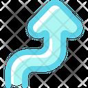 Up Arrow Bidirectional Transfer Icon