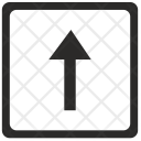 Up Top Navigation Icon