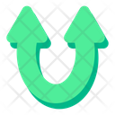 Up Pointer Arrow Icon