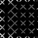 Up Arrow Sort Arrow Icon
