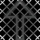 Up Arrow Direction Arrow Arrow Icon
