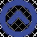 Increase Arrow Circle Icon