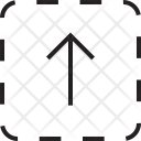 Up Arrow Square Icon
