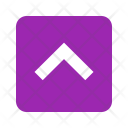Up Squared Arrow Icon
