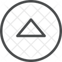 Up Carrot Circle Icon