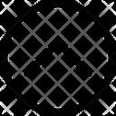 Up Chevron Arrow Up Icon