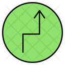 Up Direction Sign Arrow Icon
