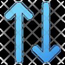 Up Down Arrows Compare Icon