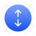 Up Down Expanding Icon