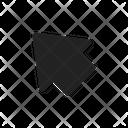 Up Arrow Left Icon