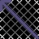 Up Left Arrow Icon