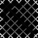 Diagonal Arrow Arrows Variant Arrow Navigation Icon