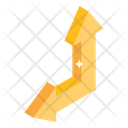 Up Left Pointer Arrows Icon