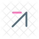 Up Right Arrow Icon
