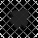 Up Arrow Right Icon