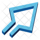 Diagonal Up Arrow Icon