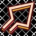 Up Diagonal Arrow Icon
