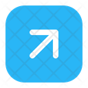 Up Right Right Arrow Icon