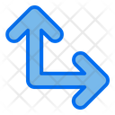 Up Right Direction Arrow Icon