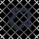 Right Arrow Up Icon