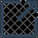 Arrow Ui Out Icon