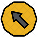 Arrow Sign Board Traffic Sign Board Icon