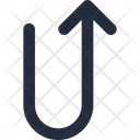 Connector U Turn Icon