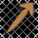 Up Zigzag Symbol Sign Icon