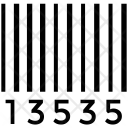 Upc Barcode Universal Icon