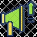 Megaphone Businessman Project Icon